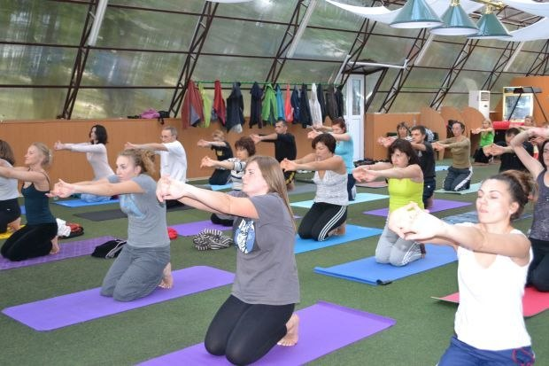 Есть ли йога в фитнес хаусе